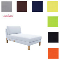 Custom Made Cover Fits IKEA Karlstad Chaise Lounge, Cover Add-on Unit