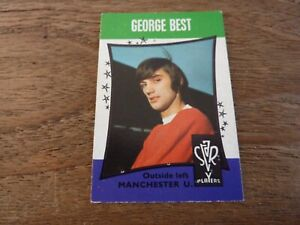 A&BC Star Players Football Card from 1967 - George Best - Number 13