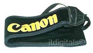 """Canon 2.5"""" inches Wide Camera Shoulder Neck Strap EOS FD AE-1 REBEL Xi SLR DSLR"""