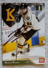 Toronto Maple Leafs Nazem Kadri Signed 09/10 London Knights Card Auto