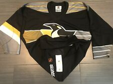 Authentic Starter Pittsburgh Penguins RoboPens Black NHL Hockey Jersey Sz 54R