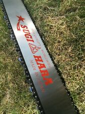 "DR2T-3Q91-A 36"" Pro Solid Sugihara Chainsaw Bar + Oregon Chain Dolmar PS-9010"