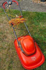 FLYMO TURBO LITE 330 HOVER ELECTRIC LAWNMOWER