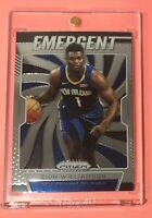 2019/20 Panini Prizm ZION WILLIAMSON Hot Rookie Insert Mint #7 Invest! Emergent