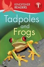Kingfisher Readers: Tadpoles and Frogs (Level 1: Beginning to Read)-ExLibrary