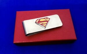 Superman Money Clip Superhero Logo Money Holder Stainless Steel Money Clip