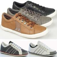 MENS CASUAL TRAINERS BOYS DESIGNER RUNNING CASUAL LACE UP WALKING GYM SHOES SIZE