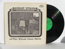 WHEAT STRAW The Wheat Goes On vinyl LP Old Homestead OHS 90063 rare blugrass NM