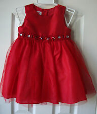 Red Party dress bling size 24 months