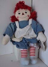 Vintage Raggedy Ann Andy Stuffed Doll Applause Limited