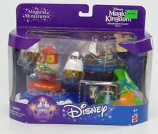DISNEY'S MAGIC KINGDOM PETER PAN'S FLIGHT PLAYSET~Mattel Magical Miniature 26332