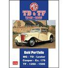 MG TD & TF Gold Portfolio 1949-1955 book paper car