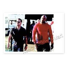 Chris O'Donnell & LL Cool J aus NCIS LA - Autogrammfotokarte laminiert [A3] 