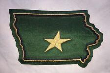 Rare Iowa Stars AHL Hockey Jersey Shoulder Patch Crest Dark Green A