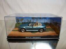BMW Z3 JAMES BOND 007 GOLDENEYE 1995 - METALLIC BLUE 1:43 - EXCELLENT IN BOX