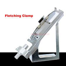 Carbon Fiberglass Arrow Aluminum Archery Fletching Jig Right Or Left Adjustable