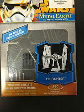 Metal Earth Star Wars Laser Cut 3D Model Kit Tie Fighter
