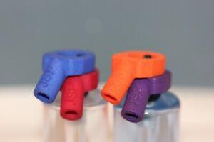 2x Solar compatible Carp fishing hockey sticks hanger bracket  ,Made in the UK