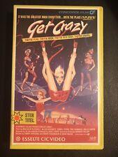 Get Crazy Ex-Rental Vintage Big Box VHS Tape English dutch subs