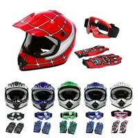 DOT Safety Youth Helmet Kids Dirt Bike Motocross Off-Road ATV S M L XL 6 Colors