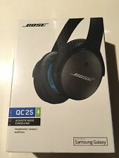 Bose QC25 QuietComfort 25 NC Around-Ear Headphones for Samung/Android (Black)