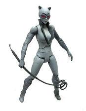 """DC Comics batman arkham city catwoman 6"""" gris variant figure pas boxed"""