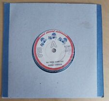 "GEORGE HARRISON-ALL THOSE YEARS AGO-ORIGINAL UK 7"" ON DARK HORSE RECORDS-1981"