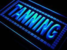 "16""x12"" j285-b Tanning Shop Sun Lotion NEW Neon Sign"