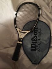 Lerch Marty Hogan Racqueball Racket with Wilson Racqueball Case Cover