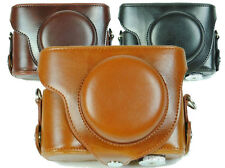 Leather camera Case Bag For Nikon Coolpix P7700 P7800 Camera