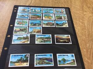 Grenada Defin Set 20 Unmounted Mint. 1975
