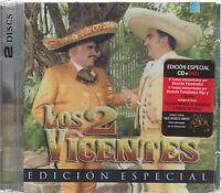 CD  -Vicente Fernandez NEW Los 2 Vicentes CD + DVD OJO*** - FAST SHIPPING !
