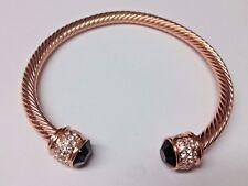 Fervor Bella Rose Gold Plated Bangle BNIB rrp £27.50