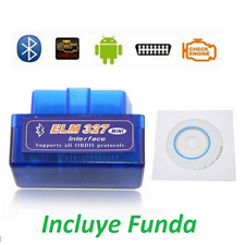 Diagnosis coches ELM327 v2.1, Bluetooth Android, ODBII, Diagnostic Scanner autos