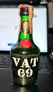 VAT 69 BLENDED SCOTCH WHISKY WHISKEY MINIATURE 50ml 43% vol.