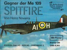 Das Waffen - Arsenal Podzun-Pallas-Verlag Band 36 Spitfire
