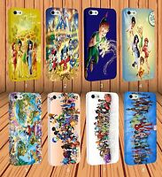Disney Series for Apple iPhone And Samsung Galaxy Hard Case Laser Technology