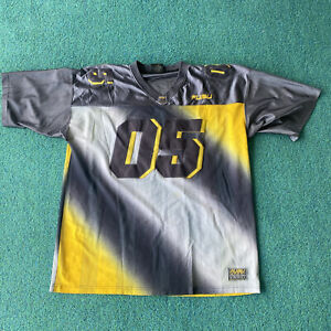 FUBU Football Jersey Sports Collection Yellow/Gray 05 VINTAGE 90s 2000s size XXL