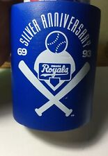 Omaha Royals Silver Anniversary Can Coozie Rare Omaha 1969-1993 Foam Budweiser