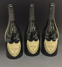 3x Dom Perignon Vintage 2006 0,75l Flasche Leer Deko Champagner