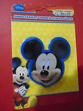 JUMBO MICKEY MOUSE ERASER, DISNEY CLUBHOUSE BRAND NEW