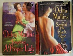 2 x Debra Mullins - Tempting a Proper Lady + Scandal of the Black Rose