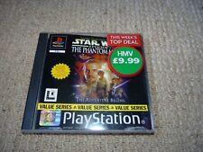 PLAYSTATION 1 STAR WARS EPISODE 1 the phantom menace PS1 (RARE)