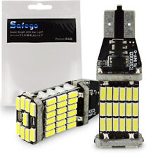 Safego 2X 1000 lumens Canbus Lamp Error Free 921 T10 T15 LED SMD 4014 W16W