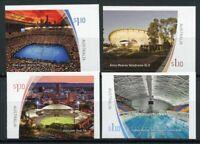 Australia Sports Stamps 2020 MNH Stadiums Tennis Cricket Cycling 4v S/A Set