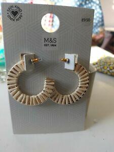 Marks And Spencer Hooped Earrings