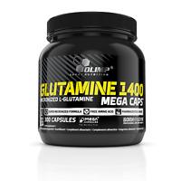 OLIMP GLUTAMIN 1400 MEGA CAPS 300 Kapseln Aminosäuren, VERSAND WELTWEIT + BONUS