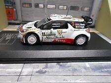 CITROEN DS3 WRC Rallye Argentina 2015 #3 Meeke Winner Abu Dhabi DCC IXO SP 1:43