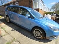 2010 Ford Focus TITANIUM Estate 1.6 Diesel, no smokers or pets, manual, £30 tax