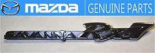 MAZDA GENUINE OEM RX-7 SAVANNA SA22C 1983-1985 Fender Badge Emblem JDM